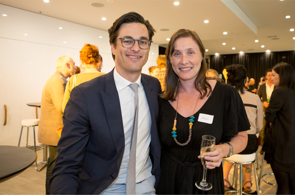 Joe Snell and Jacqui Connor at the DARCH Horse Awards. Photography by Phuong Le