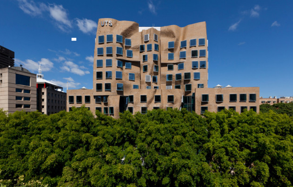 Frank gehry to attend sydney opening of uts dr chau chak for Architecture design company in australia