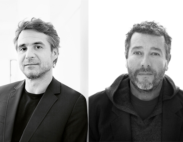 Philippe Grohe and Philippe Starck