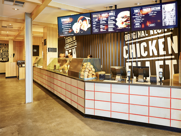 Kfc Fast Casual Restaurant Goes Live Australian Design Review
