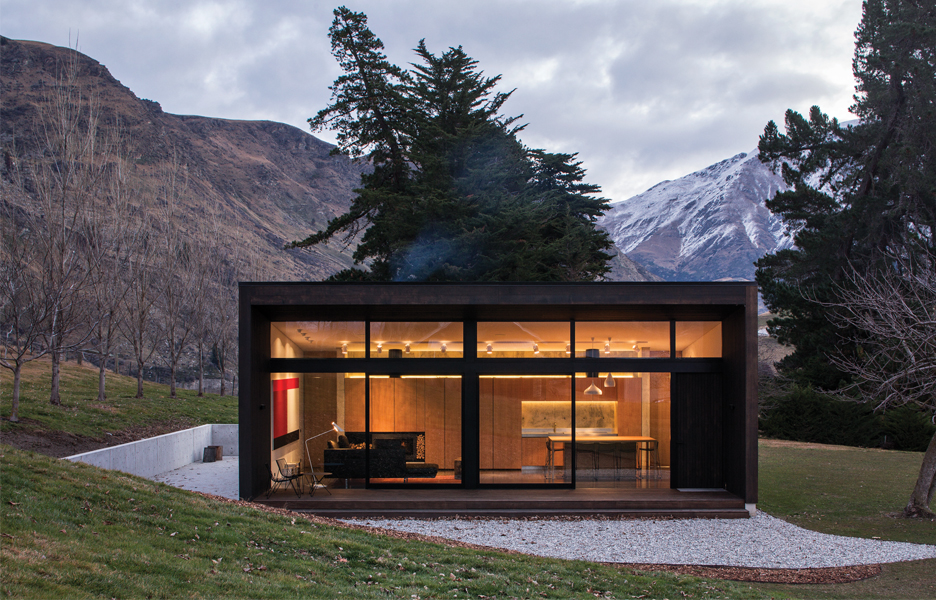 Balfour cottage australian design review - Architect designed modular homes nz ...
