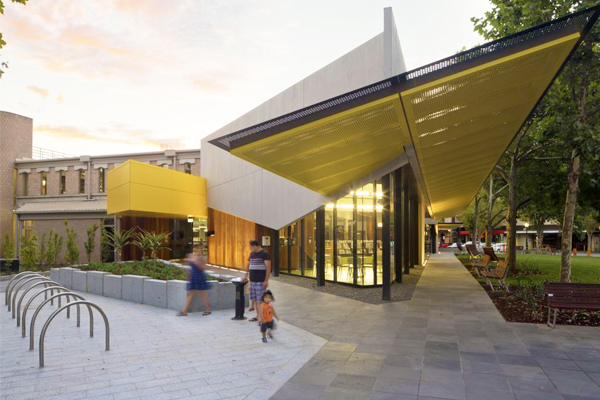 2014 Commercial Exteriors winners MGS Architects for the Bendigo Library