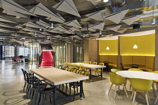 2014 Commercial Interiors winners Carr Design Group for The Boston Consulting Group
