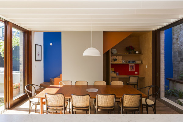 Courtyard House by Aileen Sage. Image courtesy Aileen Sage Architects
