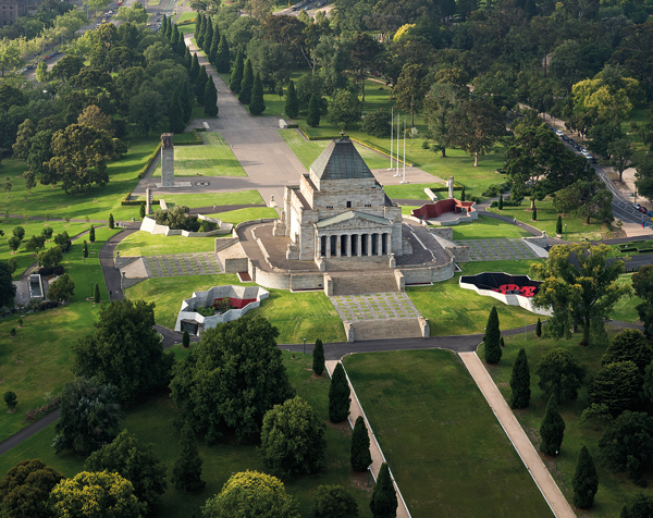Shrine of Remembrance & Galleries of Remembrance – ARM Architecture