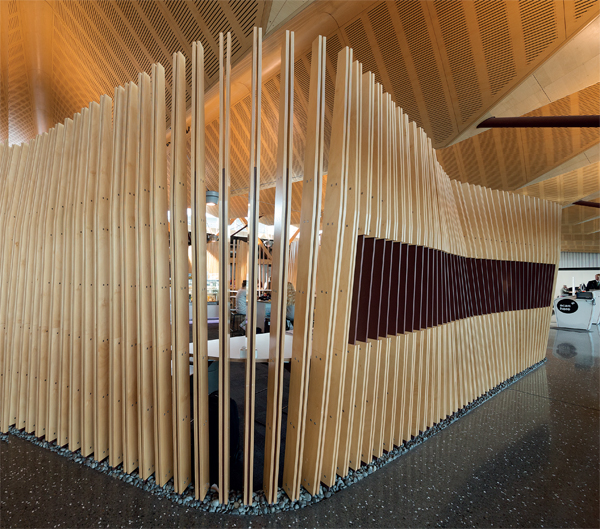 winner of the IDEA International Category for 2014, Christchurch Regional Airport Lounge is far more than a place to bide your time between flights, as New Zealand correspondent (and traveller) James Fergus discovers.