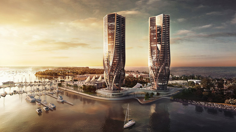 The towers at Mariner's Cove on the Gold Coast.