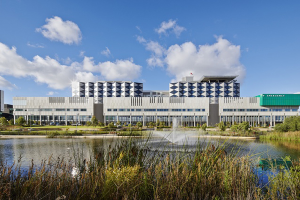 Fiona Stanley Hospital. Image by Peter Bennetts.