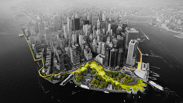 Bjarke Ingels Group Big U in Manhattan