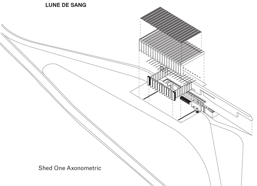 Shed One Axonometric