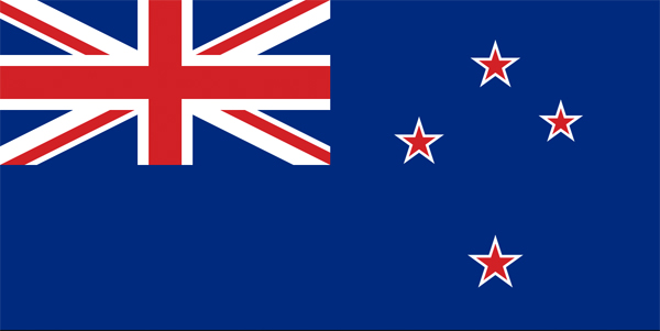 Current New Zealand flag.