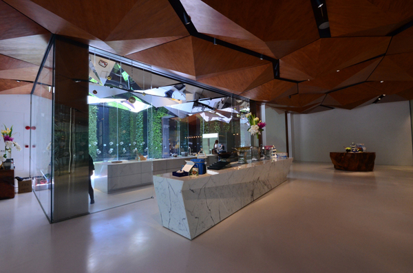 New Zealand China Concept Store, Shanghai by Patterson Associates. Photo by Atelier Aitken.
