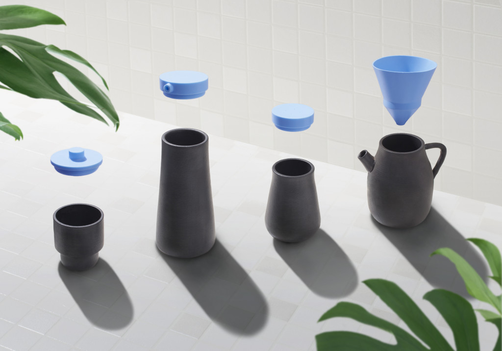 Benwu Studio, 4x4 Vessels. Courtesy Benwu Studio and Beijing Design Week