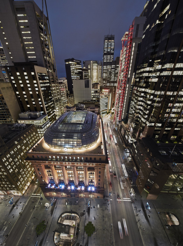 50 Martin Place by Johnson Pilton Walker. Photography by Peter Bennetts