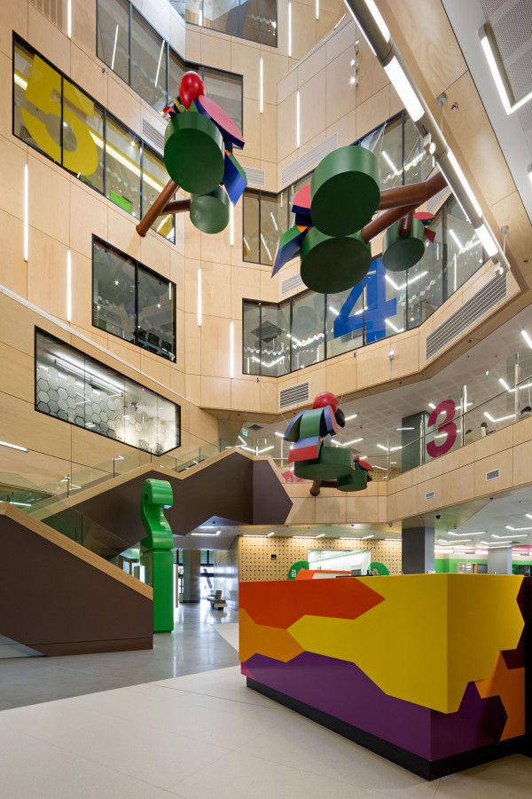 Lady Cilento Childrens Hospital by Conrad Gargett Lyons. Photography by Christopher Frederick Jones