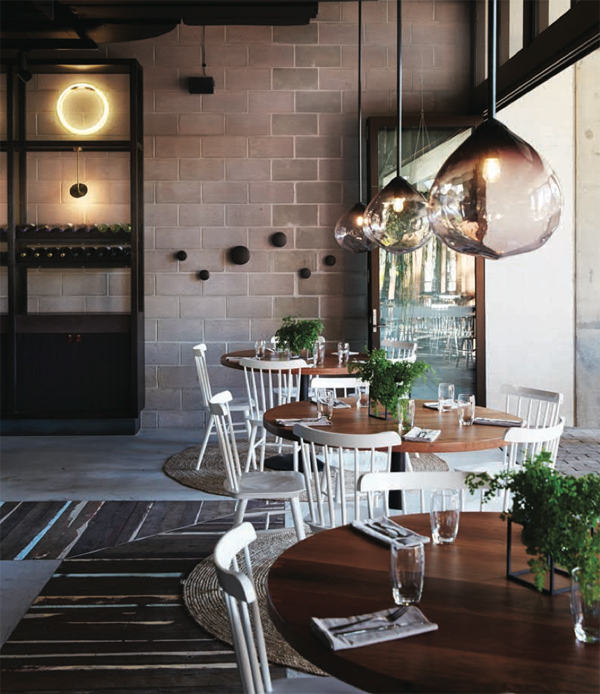Beccafico Bar & Trattoria accommodates approximately 80 patrons and 12 staff within 160 square metres, with a total construction cost nearing $400,000.