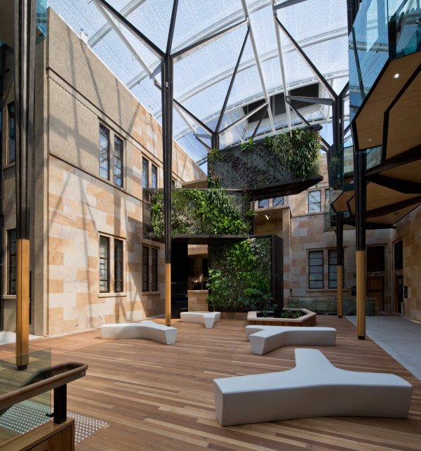 The University of Queensland by HASSELL. Photography by Peter Bennetts