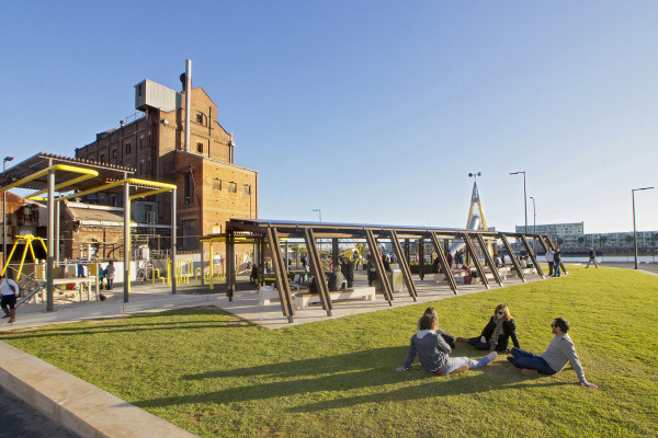 The Harts Mill Projects by Mulloway Studio and ASPECT Studios. Photography by Don Brice