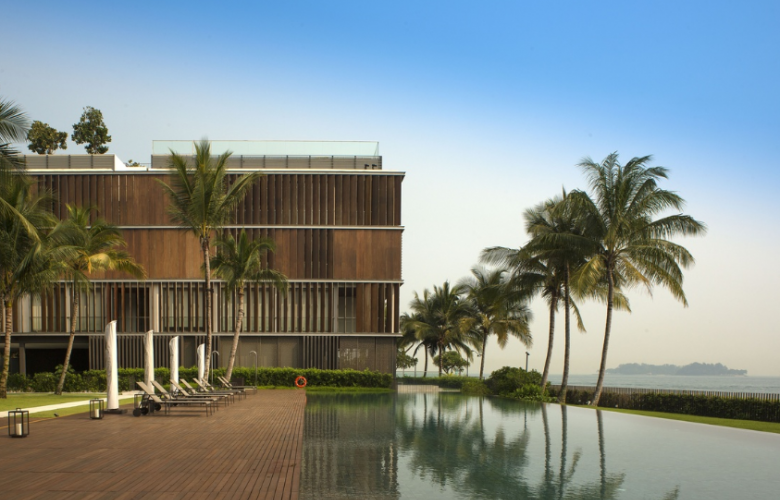 Seven Palms Sentosa Cove by Kerry Hill Architects. Photography by Albert Lim