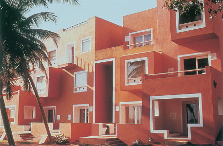 Revisiting the residential work of charles correa for Architecture design for home in goa