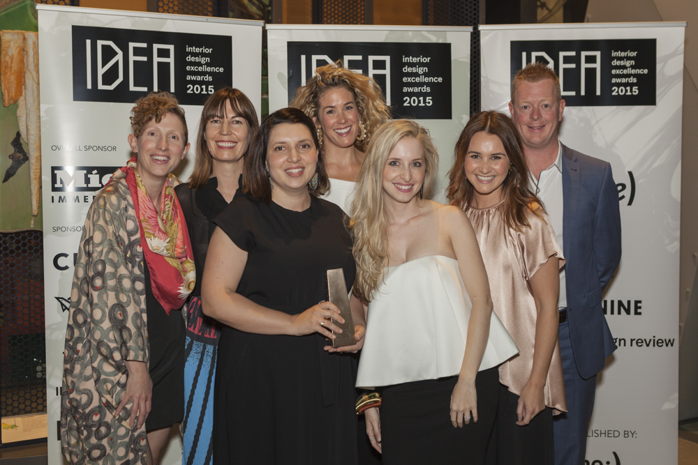The talented team at Arent&Pyke, including directors Sarah-Jane Pyke and Juliette Arent with Mark Sandilands from Rogerseller