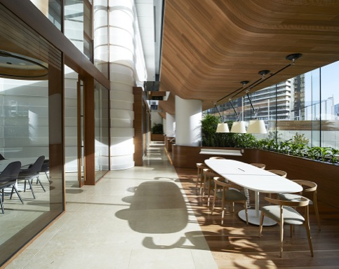 Sustainability_HASSELL_Medibank Workplace