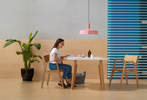 Doshi Levien's Parley table for Schiavello