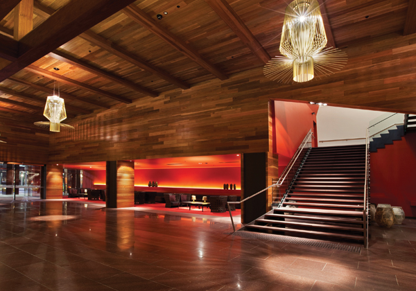 Hilton Melbourne South Wharf - Woods Bagot in collaboration with Cornwell Design and Hecker Guthrie