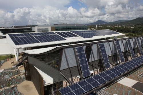 The Sustainable Buildings Research Centre_solar_panels