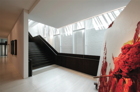 The interior of the White Rabbit Gallery, photography by Sharrin Rees.