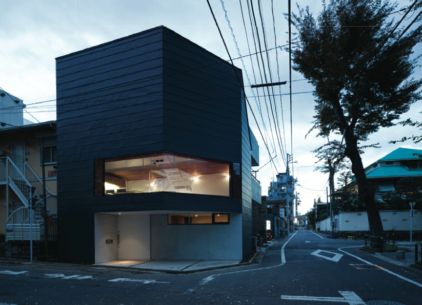 Exterior of the House in Sakuragawa by Suppose Design Office, photo by Toshiyuki Yano.