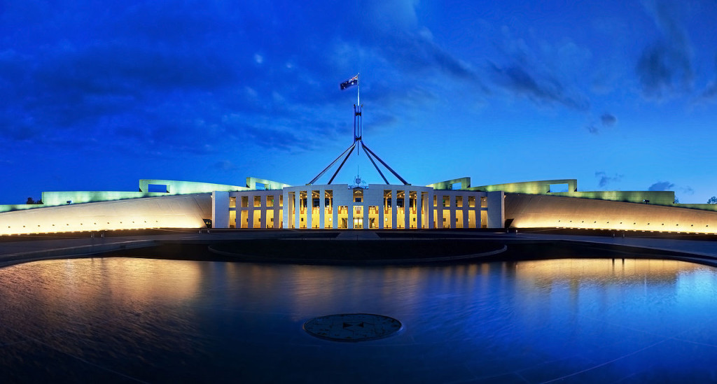 Parliament House, photo by JJ Harrison.