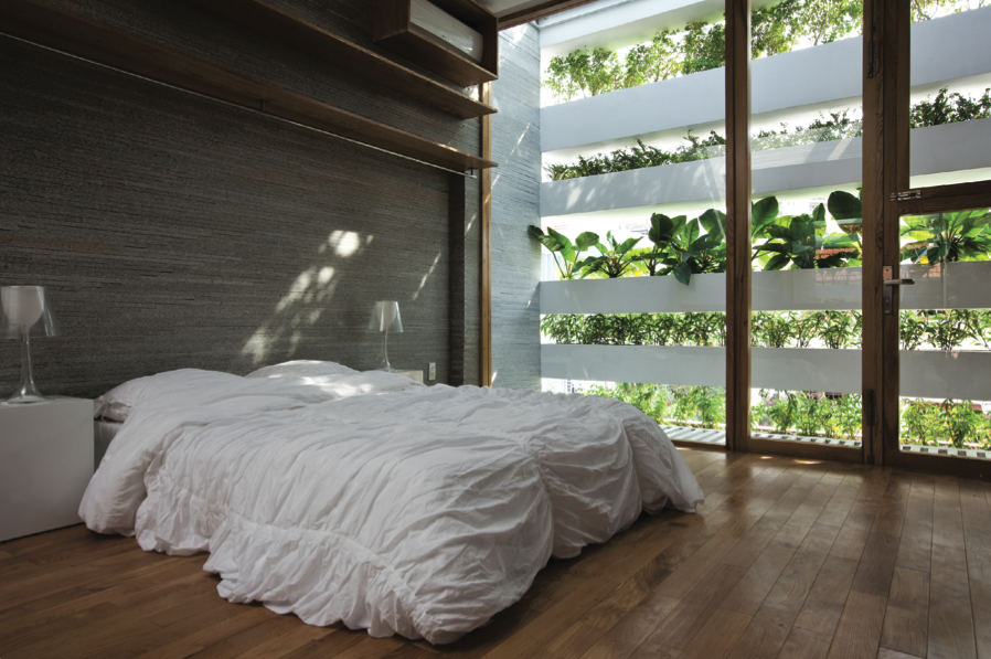 Stacking Green by Vo Trong Nghia Architects.