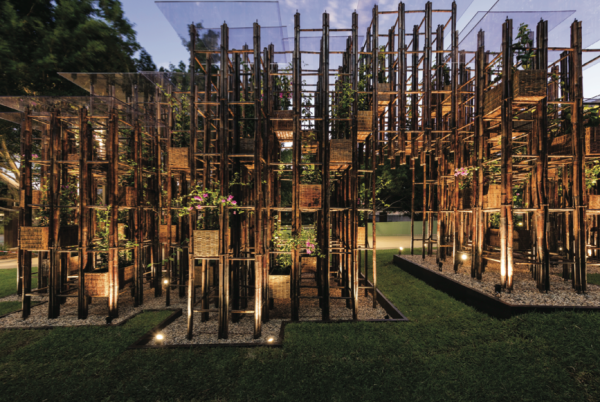 Green Ladder by Vo Trong Nghia Architects.