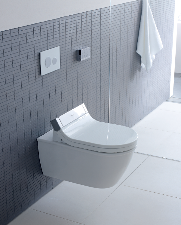 Duravit's Sensowash toilet designed by Philippe Starck available from Bathe