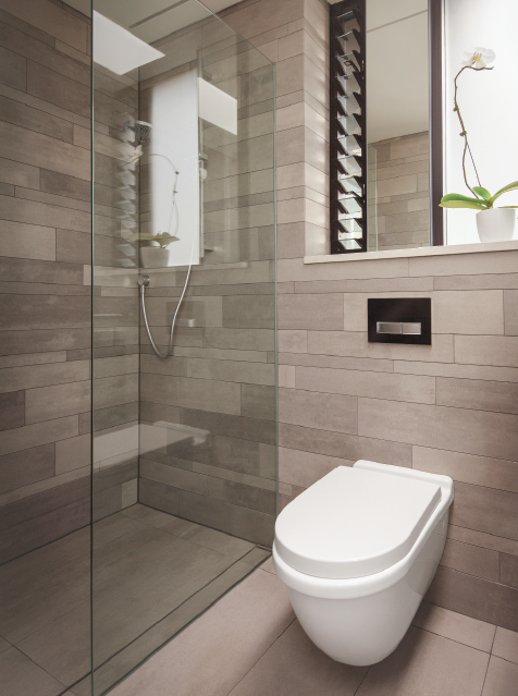 Geberit's new Freshwater Finals series concealed wall cistern