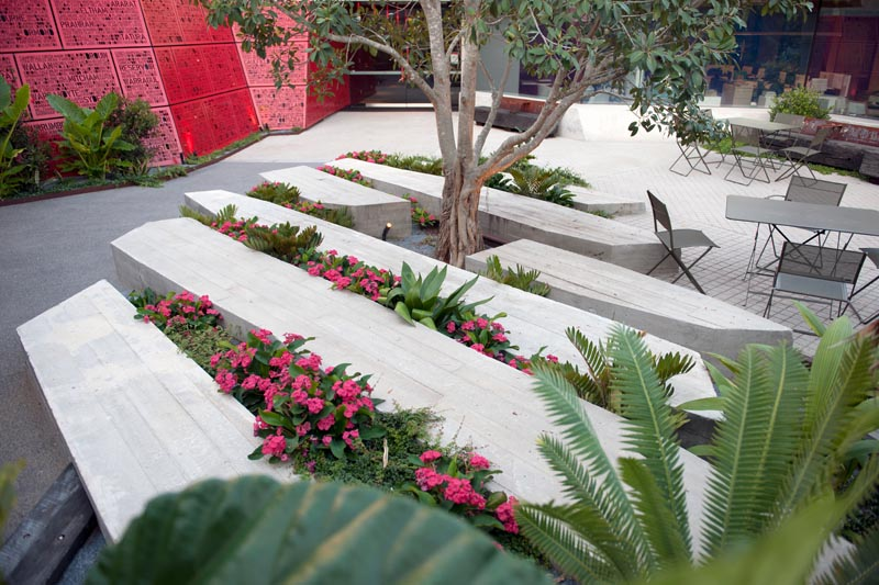 hrine of Remembrance Courtyards Stage 2 Completion, photo by Michael Wright.