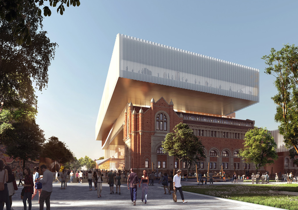 6. New Museum seen from the Perth Cultural Centre