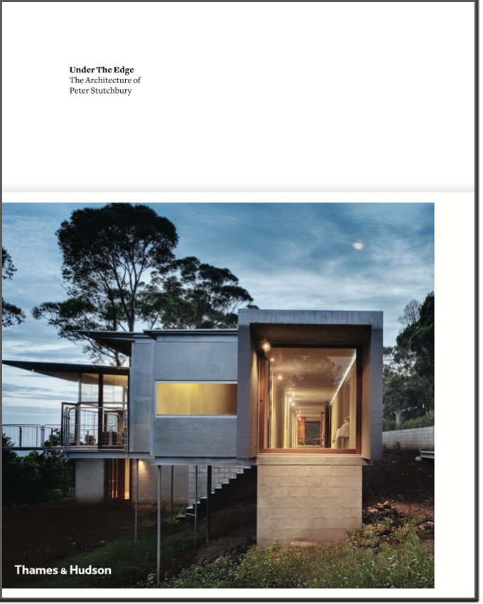 Under the Edge: The Architecture of Peter Stutchbury cover