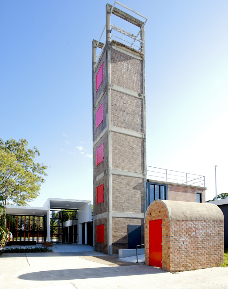 Redcliffe Fire Station was revitalised by Wilson Architects in 2014.