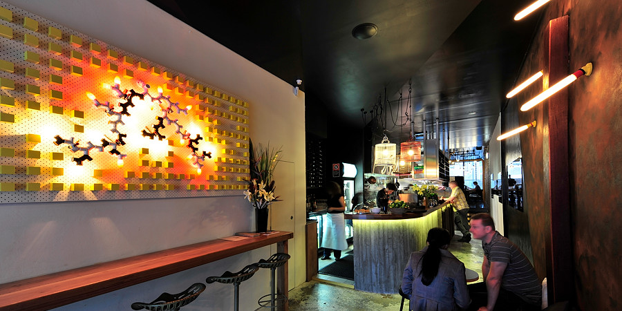Interior design bloodwood restaurant and bar australian
