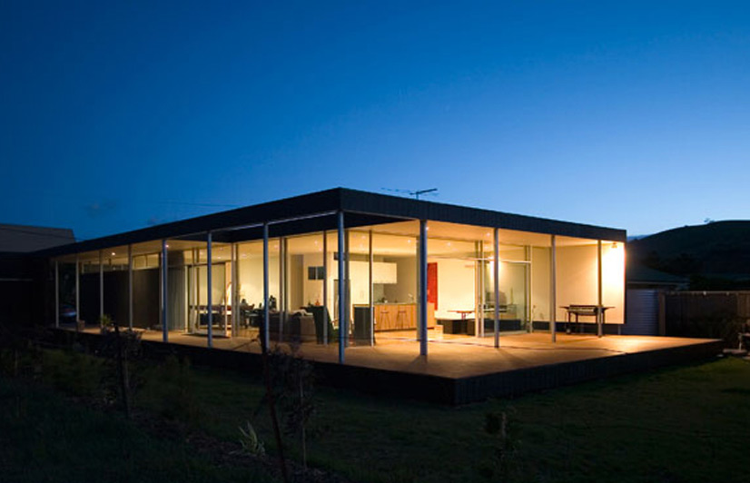 Architecture clifton beach house australian design review for Beach house plans australia