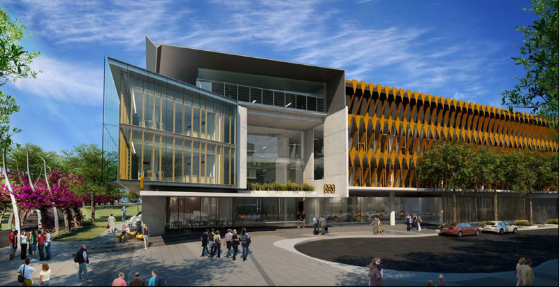 Design For Abc Brisbane Headquarters Unveiled Australian Design Review