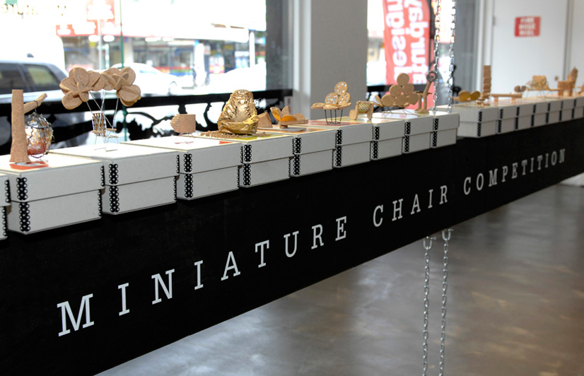 Miniature Chair Competition Australian Design Review : Cork Chairs 1 from www.australiandesignreview.com size 826 x 532 jpeg 126kB