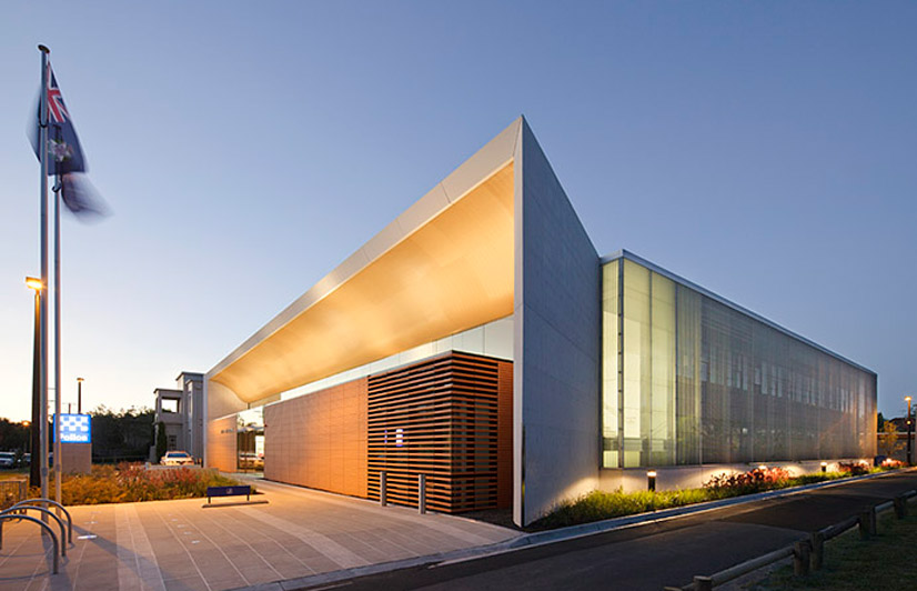 Bayside police station australian design review for Architectural design review