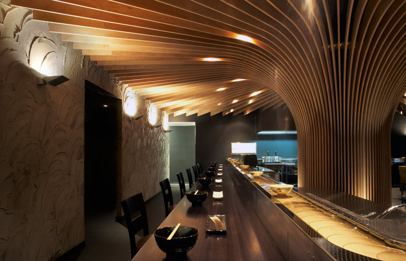 Interior design tree restaurant australian review
