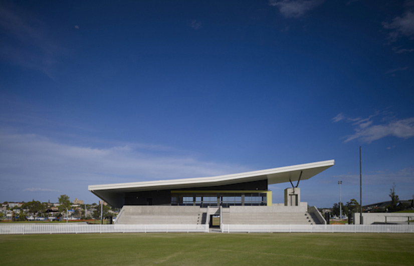 Architecture drummoyne oval community facilities for Landscape design jobs adelaide
