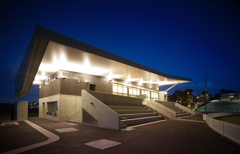 Architecture drummoyne oval community facilities for Architectural design review