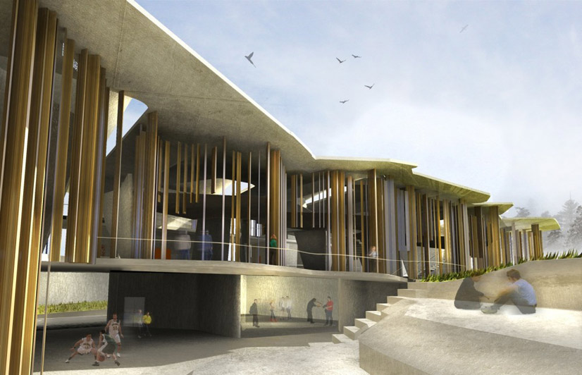 Peter Cook And Brit Andresen To Design Bond University