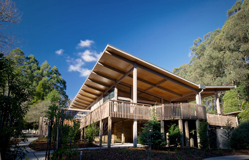 Architecture olinda tea house australian design review for Architecture design company in australia